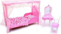 Мебель для кукол Gloria Спальня (уценка)
