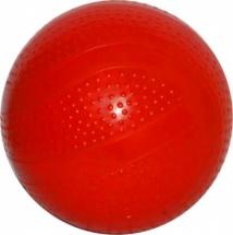Мяч d=75 мм лакированный, красный