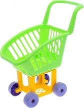 Тележка Пластмастер для супермаркета, зеленый