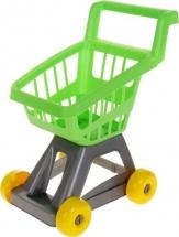 Тележка Совтехстром для супермаркета, зеленый