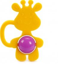 Грызунок Жирафики Жирафик силиконовый с погремушкой
