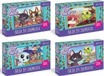 Пазл Origami Littlest Pet Shop. Прогулки по городу 54 элемента