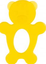 Прорезыватель Knopa Мишка, желтый