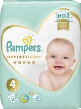 Подгузники Pampers Premium Care Maxi 4 (9-14 кг) 37 шт