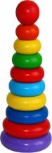 Пирамидка Краснокамская игрушка кольцевая