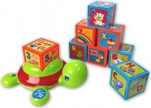 Музыкальная игрушка Азбукварик черепашка Умняшка