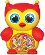 Музыкальная игрушка Азбукварик Зверята-малышата Совушка