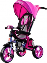Велосипед Smart Baby TS2P складной, розовый