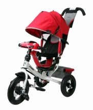 Велосипед Moby Kids Comfort AIR Car 2, красный