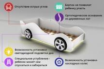 Кровать-машина Полиция