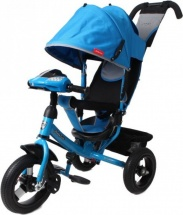 Велосипед Moby Kids Comfort AIR Car 1, синий