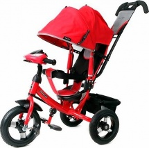 Велосипед Moby Kids Comfort AIR Car 1, красный