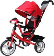 Велосипед Moby Kids Comfort EVA car, красный