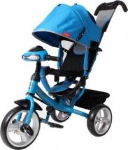 Велосипед Moby Kids Comfort EVA car, синий