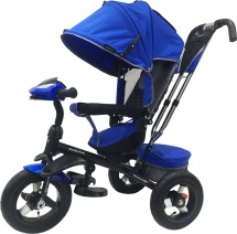 Велосипед Moby Kids Comfort 360 AIR, синий