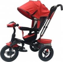 Велосипед Moby Kids Comfort 360 AIR, красный