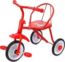 Велосипед трехколесный Moby Kids Друзья, красный