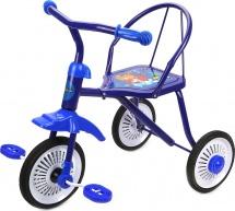 Велосипед трехколесный Moby Kids Друзья, синий
