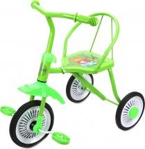 Велосипед трехколесный Moby Kids Друзья, зеленый