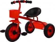 Велосипед трехколесный Moby Kids Пони 2 корзинки, красный