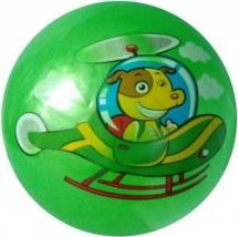 Мяч Звери на транспорте 22 см