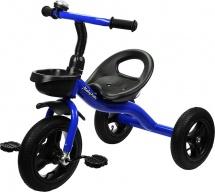 Велосипед трехколесный Moby Kids, синий
