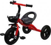 Велосипед трехколесный Moby Kids, красный