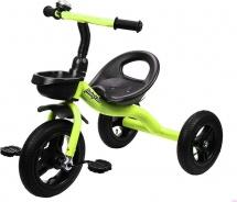 Велосипед трехколесный Moby Kids, салатовый