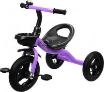 Велосипед трехколесный Moby Kids, фиолетовый