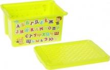 Ящик Little Angel Азбука для хранения игрушек 17 л