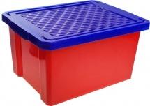 Ящик Little Angel Лего для хранения игрушек 17 л, красный