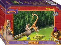 Пазлы Steppuzzle DreamWorks Мадагаскар 3 80 элементов