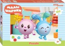 Пазлы Steppuzzle Riki Любимые сказки. Малышарики 120 элементов