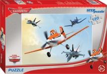 Пазлы Steppuzzle Disney Самолеты 120 элементов