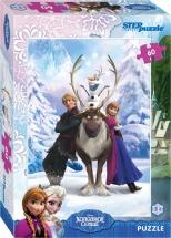 Пазлы Steppuzzle Disney Холодное сердце 60 элементов