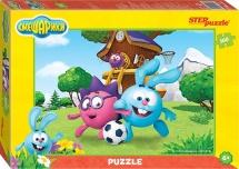 Пазлы Steppuzzle Смешарики 160 элементов