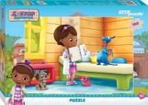 Пазлы Steppuzzle Disney Доктор Плюшева 160 элементов