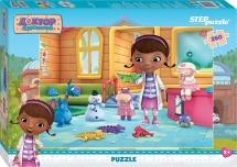 Пазлы Steppuzzle Disney Доктор Плюшева 260 элементов