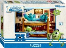 Пазлы Steppuzzle Disney - 5. Корпорация монстров 80 элементов