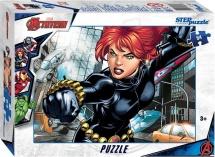 Пазлы Steppuzzle Marvel 2 Мстители Черная Вдова 54 элемента
