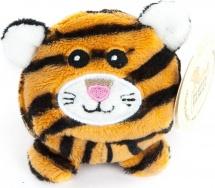 Мягкая игрушка Fluffy Family Дикие круглики. Тигр