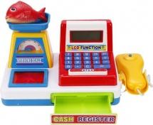 Касса Наша игрушка с весами и сканером
