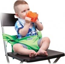 Мобильный стульчик Жирафики для кормления 2 положения, зеленый