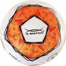 Мяч футбольный X-Match 22 см, оранжевый