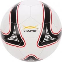 Мяч футбольный X-Match 22 см, бело-черный