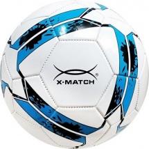 Мяч футбольный X-Match 22 см, бело-синий