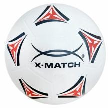 Мяч футбольный X-Match 22 см, бело-красный