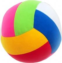 Мяч Мякиши Шалун с погремушкой