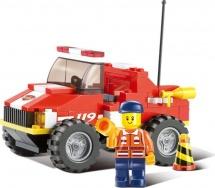 Конструктор Sluban Пожарные спасатели 118 деталей