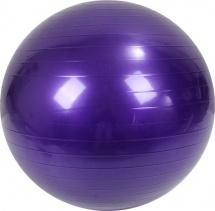 Мяч гимнастический Фитнес d=55 см, фиолетовый